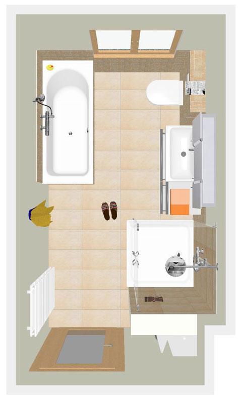 schmales bad cool ein groes bad wird mit leben gefllt. Black Bedroom Furniture Sets. Home Design Ideas